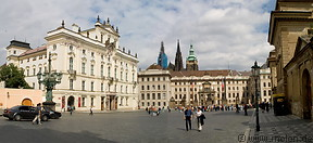10 Hradcanske square with castle