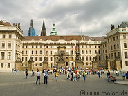11 Front view of Prague castle
