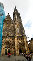 17 St Vitus cathedral front view