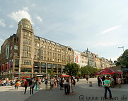 11 Wenceslas square with Koruna building