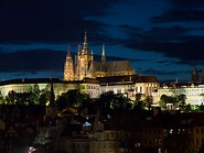 02 Castle and St Vitus cathedral at night