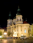 09 St Nicholas church at night