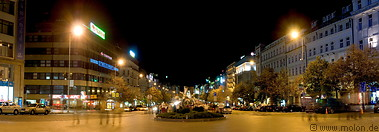 12 Wenceslas square at night
