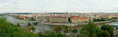05 Panorama view of Prague and Vltava river