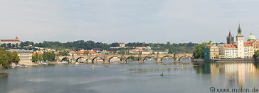 07 Charles bridge and Vltava river