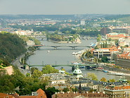 12 Vltava river with bridges