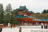 Heian Shinto shrine photo gallery  - 18 pictures of Heian Shinto shrine